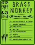 Brass Monkey nov 2015