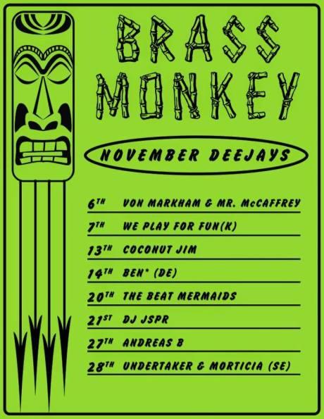 Brass Monkey nov 2015