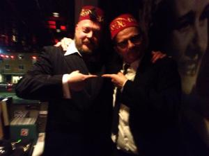 His fez is better than mine...