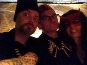 Doc Pete, Dj Undertaker and Dj Morticia - taking djing dead serious.