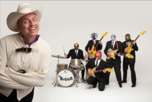 Los Straitjackets and Deke Dekerson at Loppen  18/2